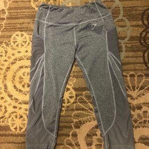 Grey Capri Gymshark Leggings